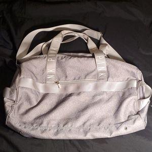 PINK VS Duffle bag Gray